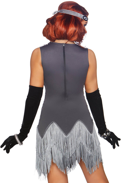 LA-86855, Roaring Roxy Costume by Leg Avenue Back View