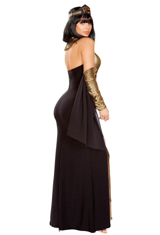 R-4930, Women's Ruler of Egypt Costume Roma | Back View