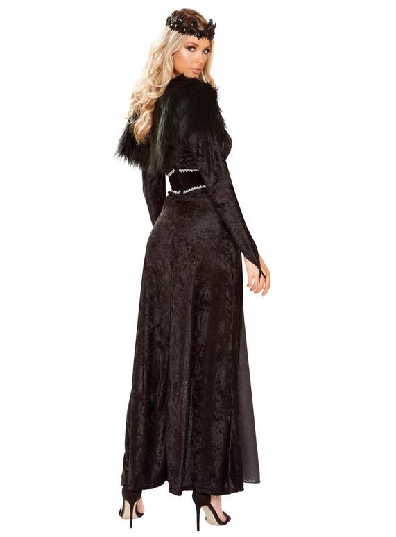 Roma R-4897, Dark Kingdom Queen Costume Full Back View