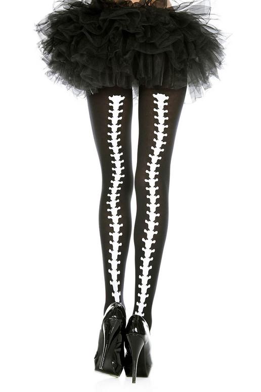 Vertebrae Backseam Pantyhose by Music Legs ML-37340