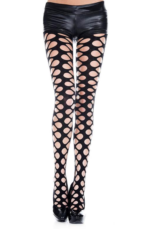 Net Hole Pantyhose by Music Legs | ML-50050