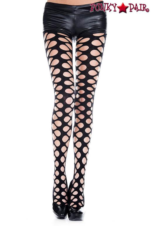 Music Legs | ML-50050, Net Hole Pantyhose