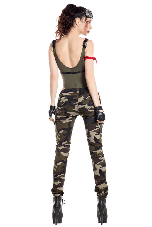 Starline | S8062, Nighttime Gamer Soldier Back View