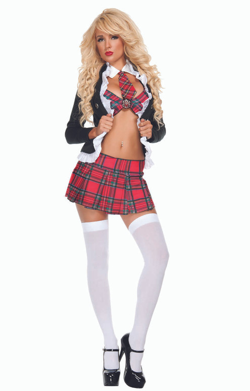 S1199, Uptown School Girl Costume by Starline Full View
