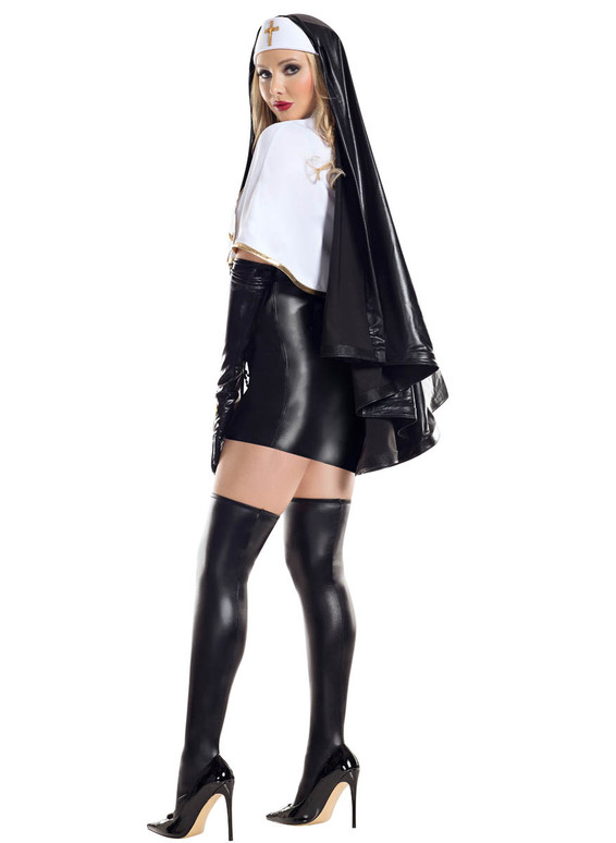 S8053, Blasphemous Babe Costume by Starline Full Back View