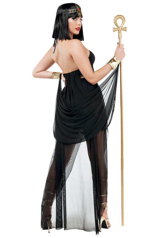 S9025, Egyption Queen Costumes by Starline back view