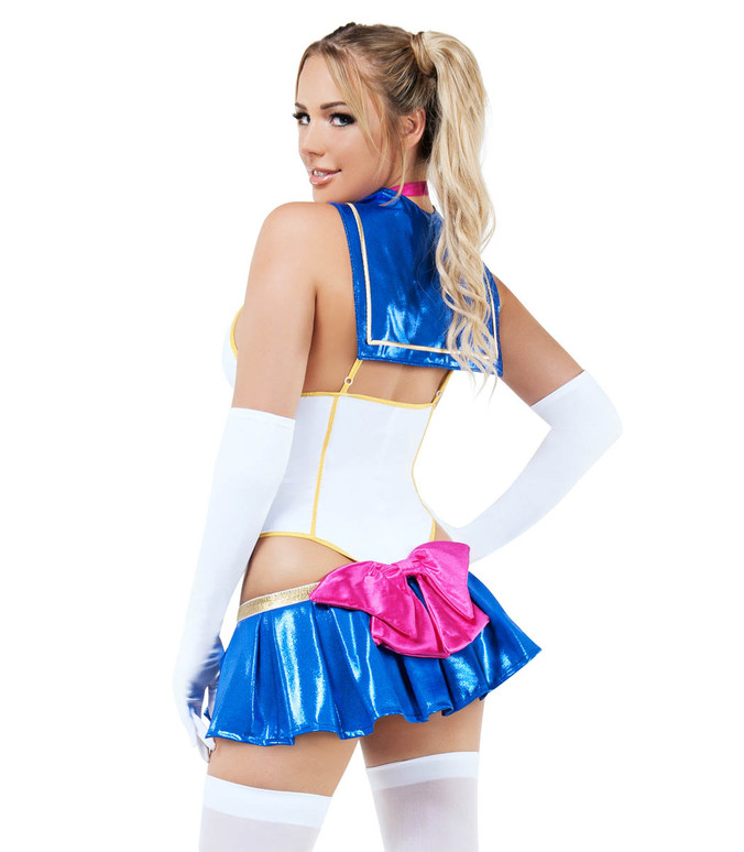 ForPlay S9018, Sexy Cosplay Anime School Girl Costume back view