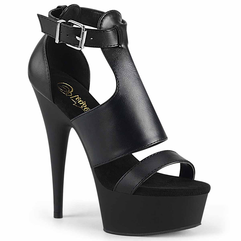 Pleaser | Delight-692, 6 Inch Closed Back Sandal