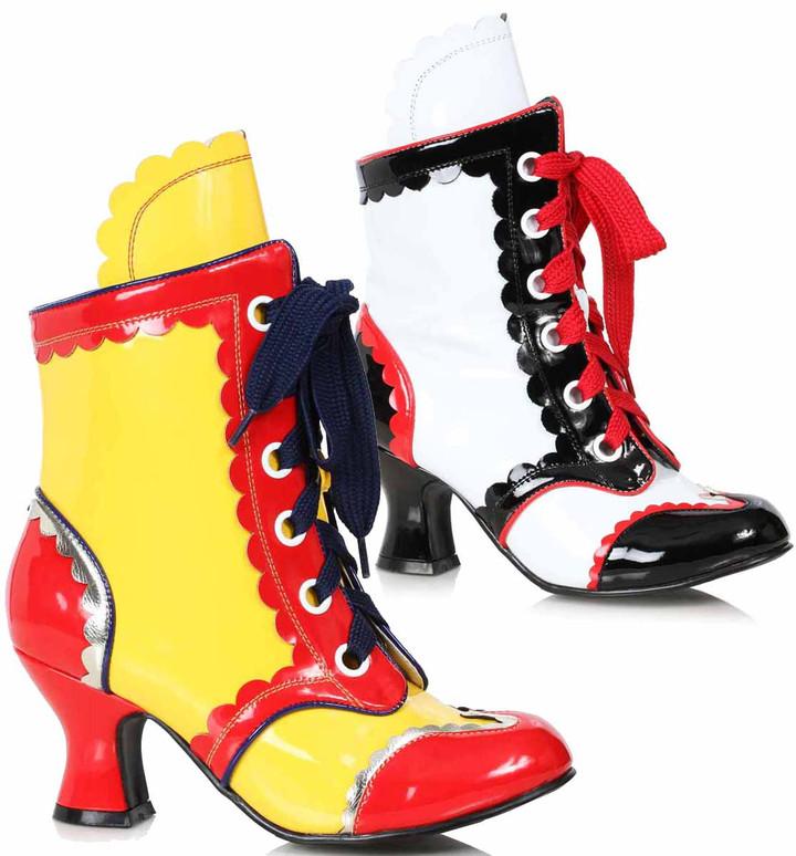 Women's Clown Shoes 254-Bubbles, by Ellie 1031