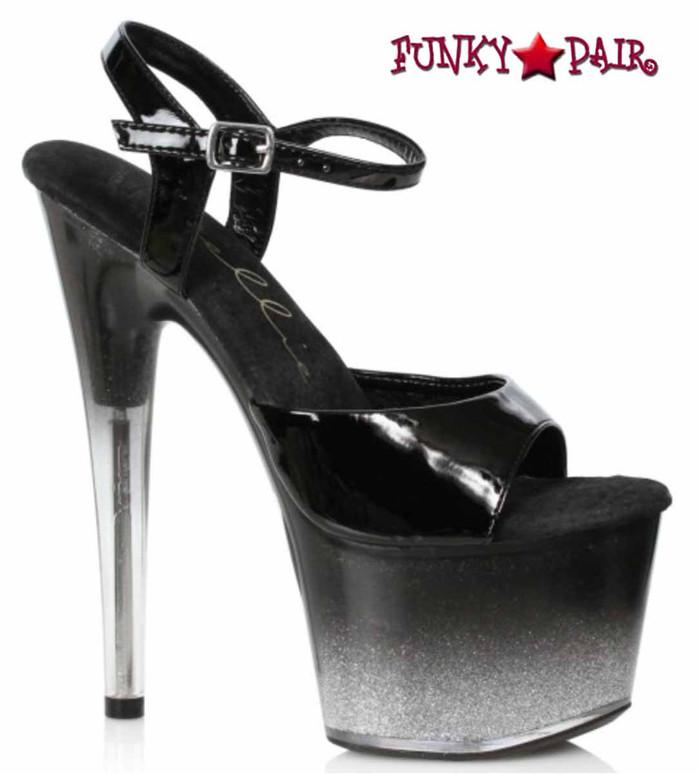 Ellie Shoes | 709-Miranda, Ombre Glitter Platform