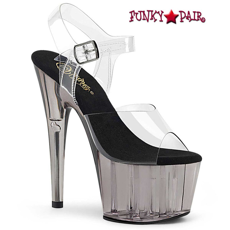Pleaser | Adore-708T, Tinted Platform Sandal