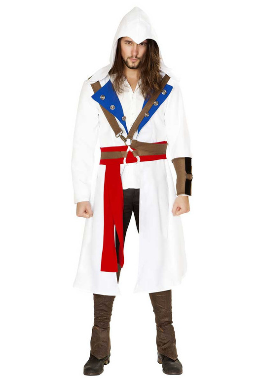R-4844, Men's Assassins Warrior Costume by Roma