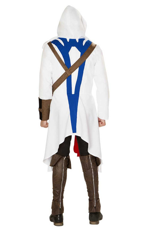 Roma R-4844, The Assassins Warrior Costume back view