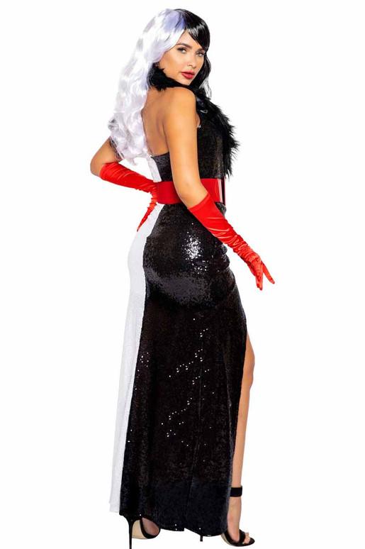 Roma R-4993, Fur Lovin' Dog Diva Costume Back View