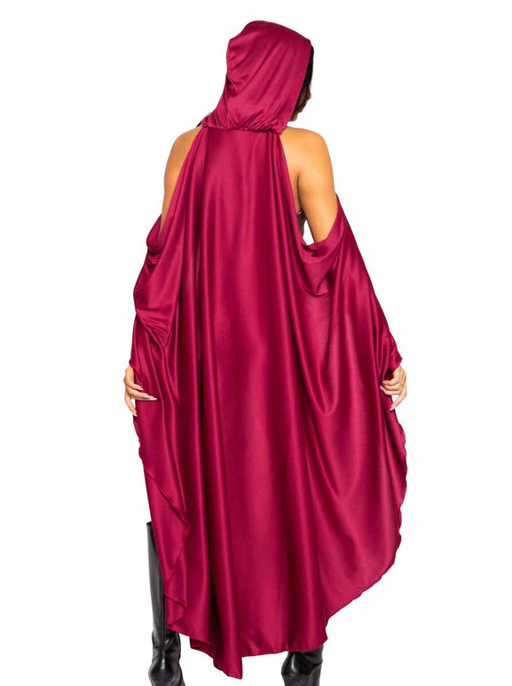 Roma R-4994, Adult Red Riding Hood Costume Back View
