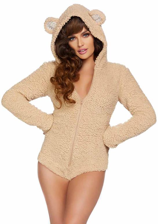 LA-86952, Teddy Bear BodySuit Costume by Leg Avenue