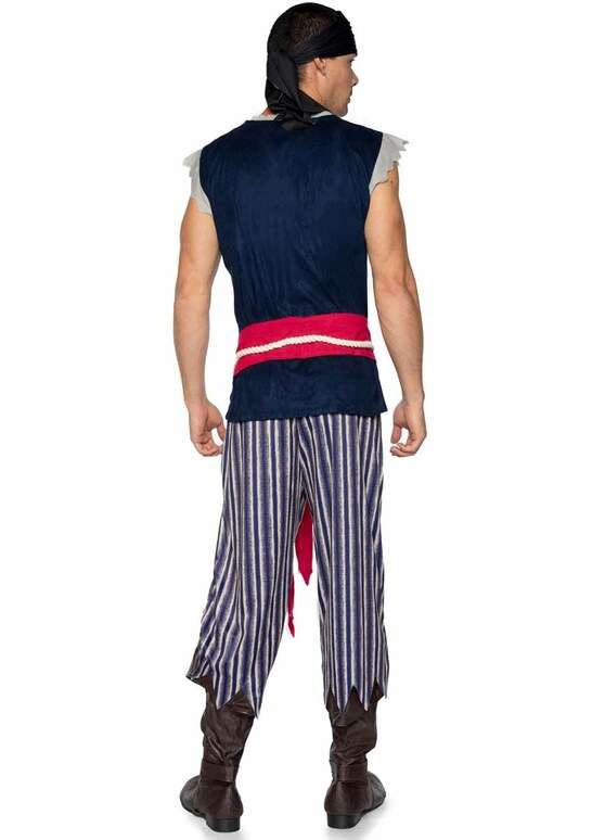 LA86940, Men's Plank Walking Pirate Costume by Leg Avenue