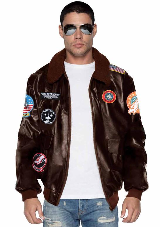 TG86923, Men's Maverick Bomber Jacket by Leg Avenue