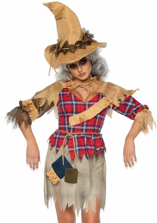 LA86943, Sinister Scarecrow Costume by Leg Avenue