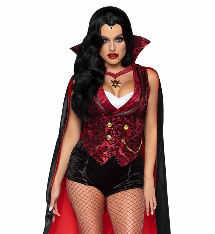 LA-86937, Bloodthirsty Vamp Costume by Leg Avenue