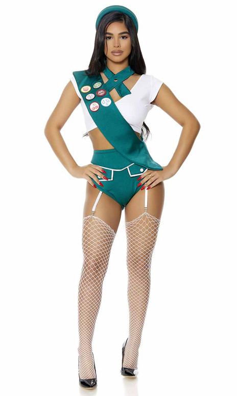 ForPlay | FP-551519, Scout Me Out Sexy Girl Scout Costume Full View