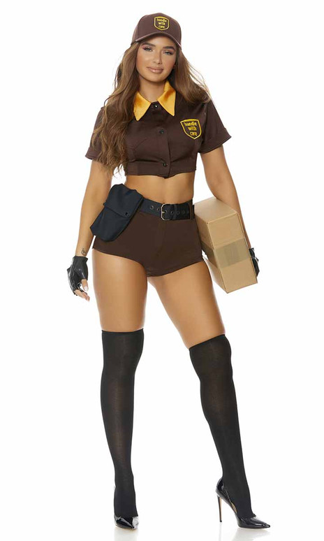 ForPlay   FP-551516, Sexy Postal Delivery Costume