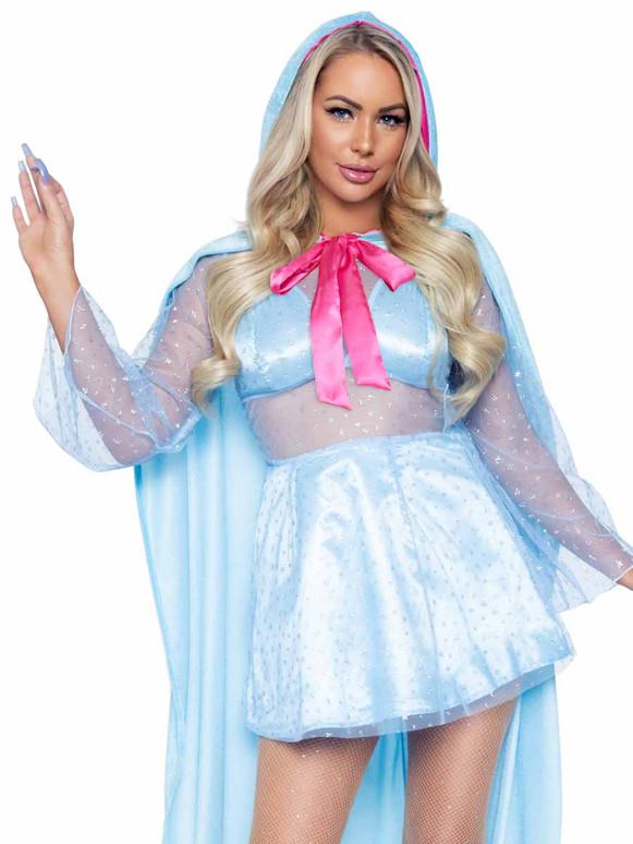 LA86976, Flirty Godmother Costume By Leg Avenue