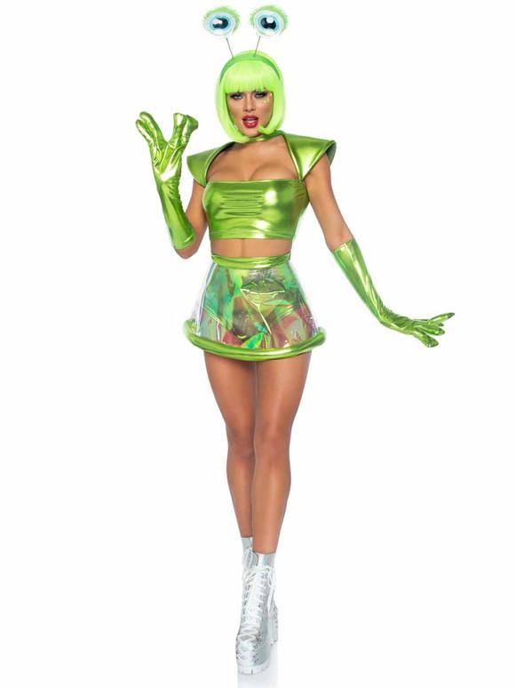 Beam Me Up Babe Costume By Leg Avenue   LA87067