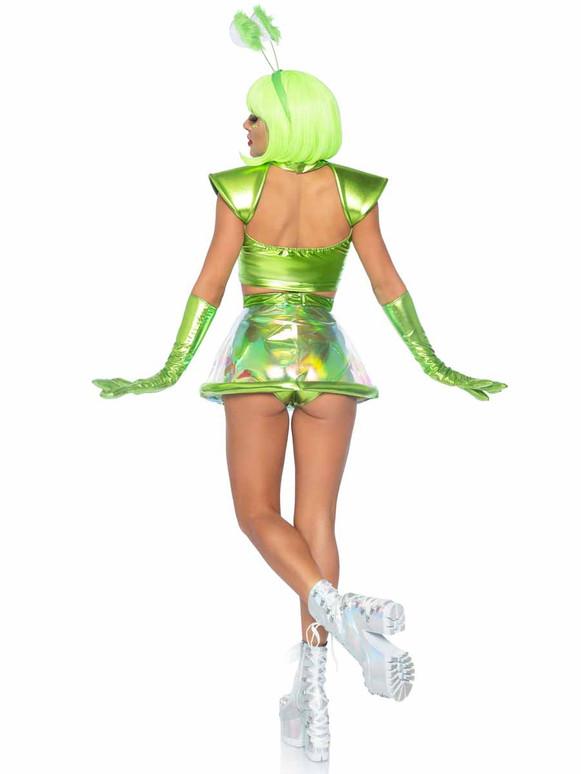 Beam Me Up Babe Costume Back View By Leg Avenue LA87067,