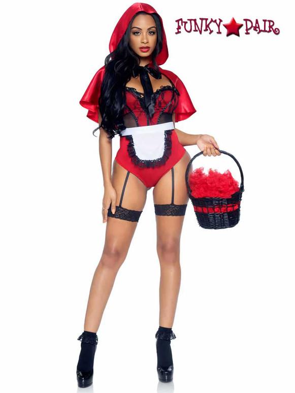 Leg Avenue Naughty Miss Red Costume   LA86975