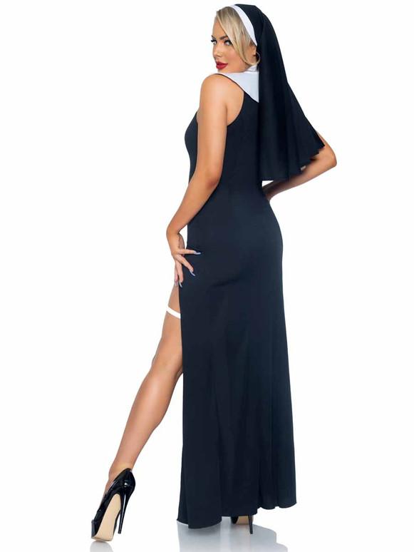Leg Avenue | LA86972, Sultry Sinner Costume Back View