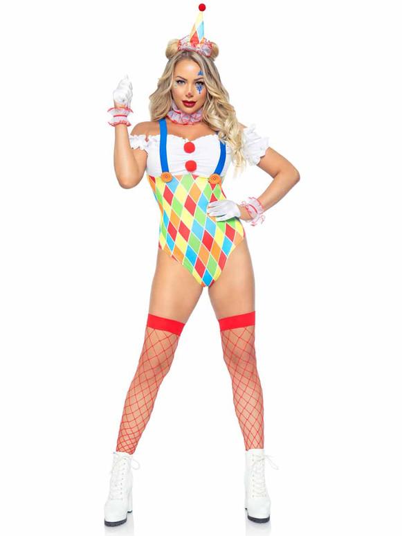 Leg Avenue Clown Cutie Costume LA86982