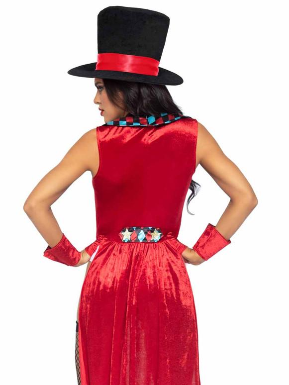 Leg Avenue LA86993, Ring Mistress Costume Back View