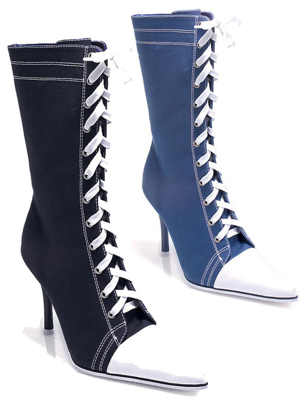 457-Taylor, Sneaker lace-Up Boot by Ellie Shoes
