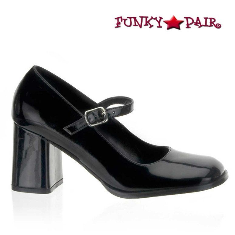 """Funtasma, GOGO-50, 3"""" Block Heel Mary Jane Shoes"""