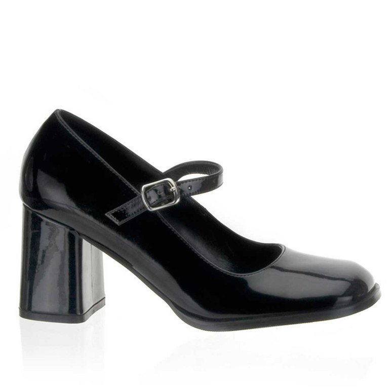 "GOGO-50, 3"" Block Heel Mary Jane Shoes by Funtasma"
