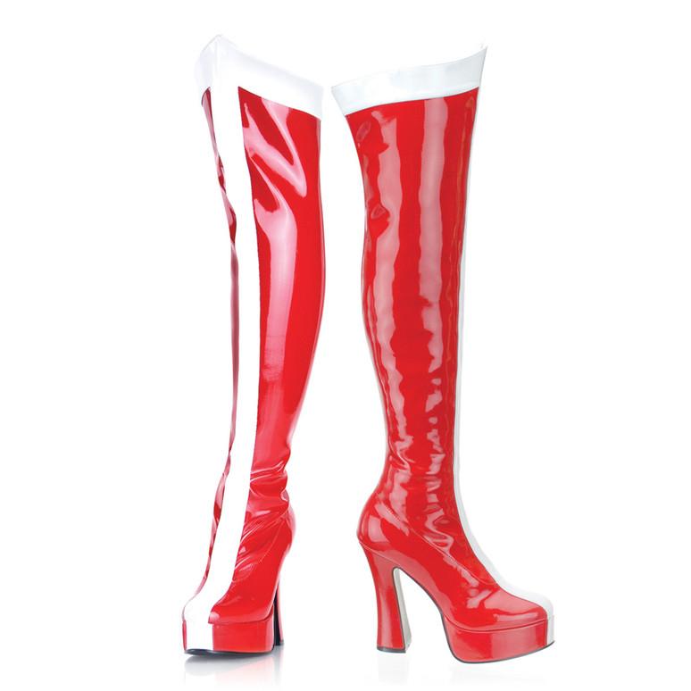 Wonder Woman Thigh High Boot   Funtasma   ELECTRA-2090