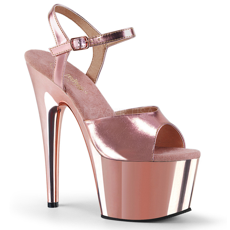 ADORE-709 Rose Gold Met. Pu/Rose Gold Chrome