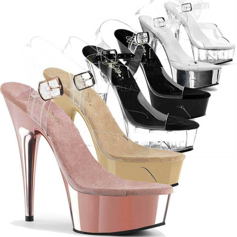 Pleaser | 6 Inch Stripper Shoes DELIGHT-608