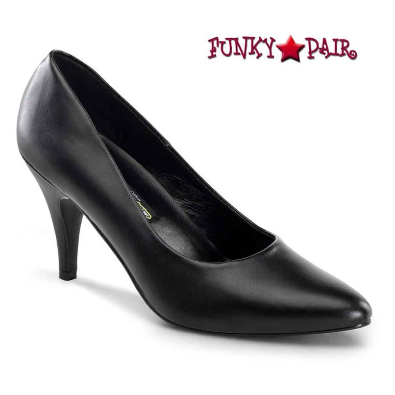 Pleaser | Pump-420, Women's  Classic Pump black faux leather