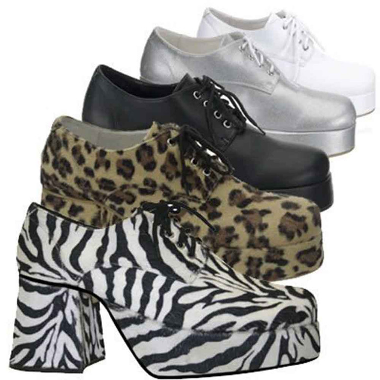 Men Disco Platform Shoes  | Funtasma JAZZ-02