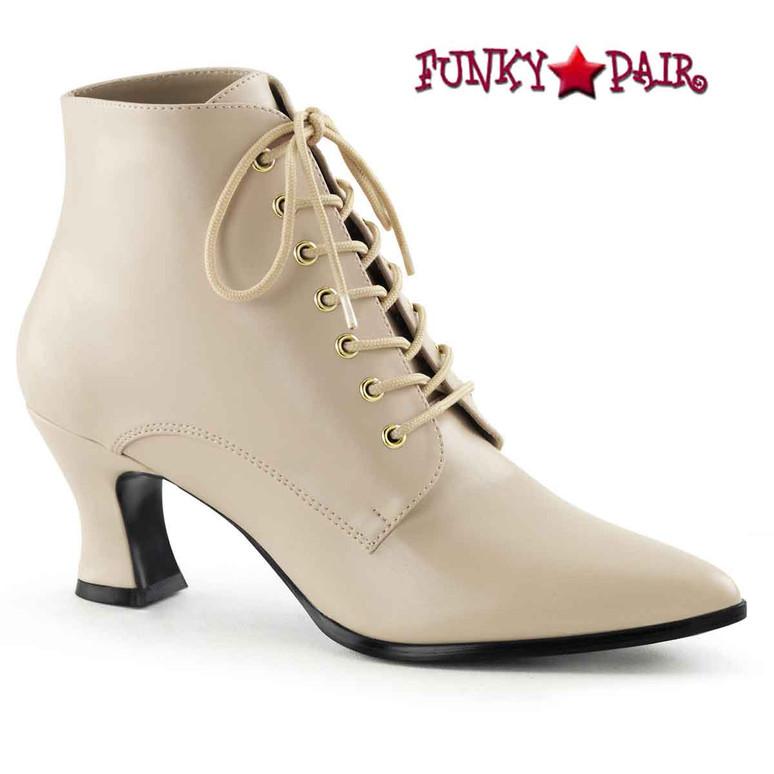 Cream Victorian Boot Victorian-35,