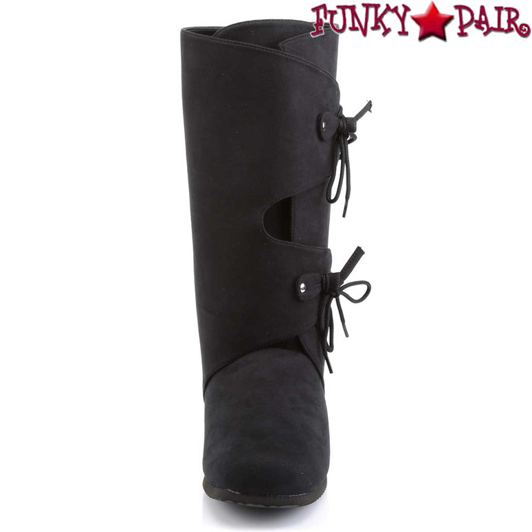 Back View RENAISSANCE-100 Men's Renaissance Boots   Funtasma