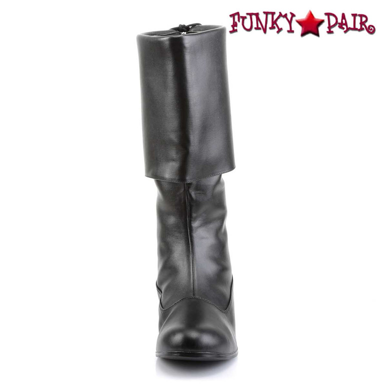 Front View PIRATE-100, Men's Pirate Boots | Funtasma