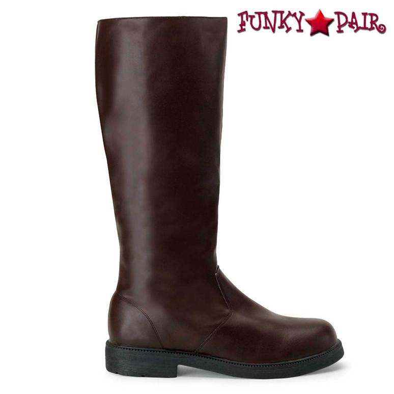 Brown Men's Halloween Boots | Funtasma CAPTAIN-100