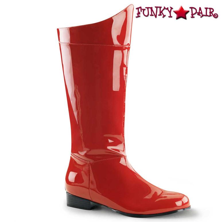 Red Super Hero Boot
