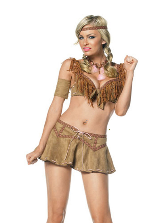 Sexy Indian Princess Costume, 53012