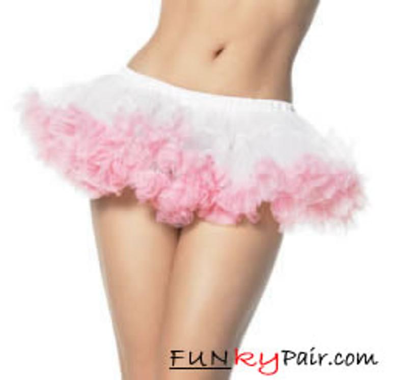LA-8993, Puffy Chiffon Petticoat