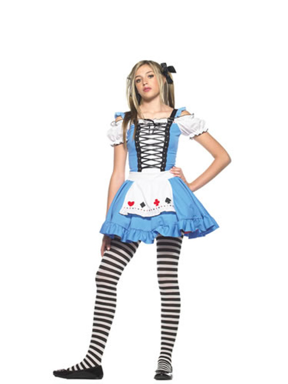 LA-J48003, Teen Miss Alice Costume