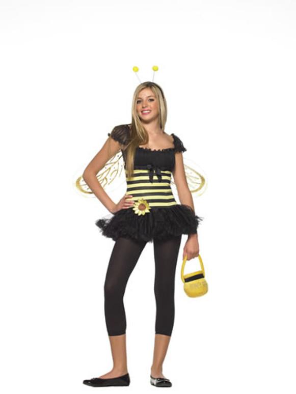 LA-J48008, Teen Sunflower Bee Costume